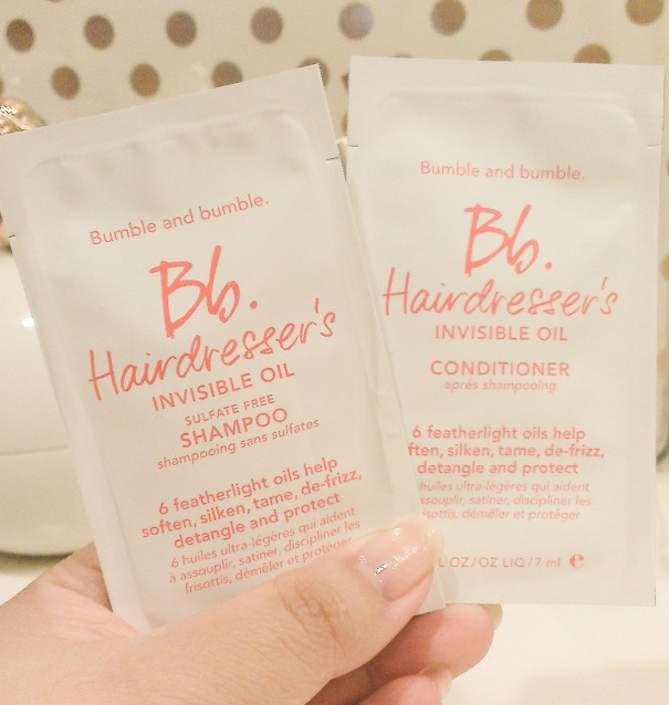 bumble & bumble hairdresser's invisible oil sample